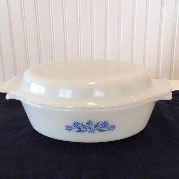 On Sale Anchor Hocking Fire King White Milk Glass Handled Bowl with Handles Number 11